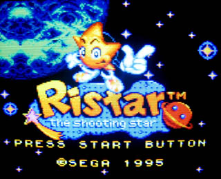 Ristar is another good game with excellent graphics throughout.